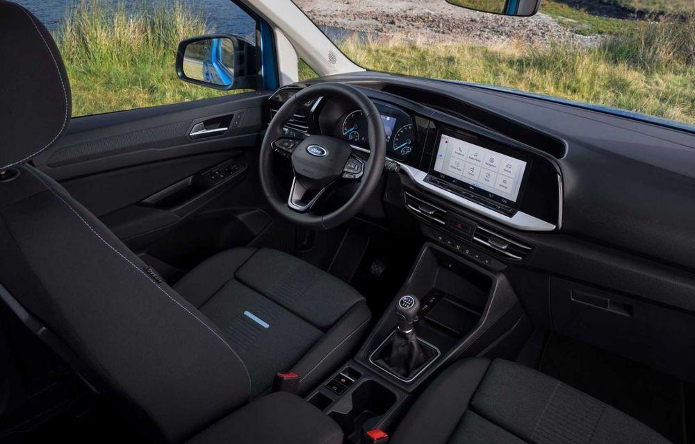 Noua generație Ford Tourneo Connect: două motorizări și, în premieră, tracțiune integrală - Poza 14