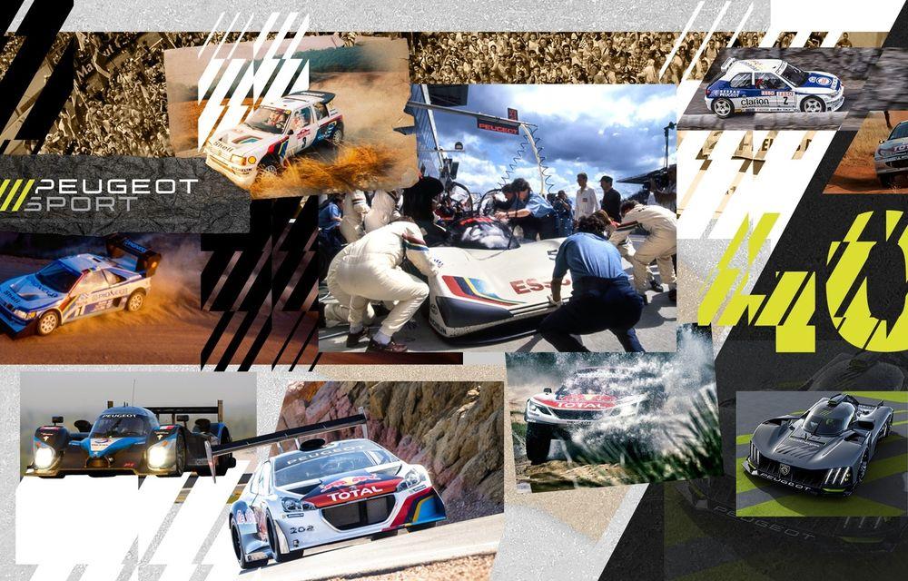 Peugeot Sport aniversează 40 de ani de modele emblematice și numeroase victorii în motorsport - Poza 1