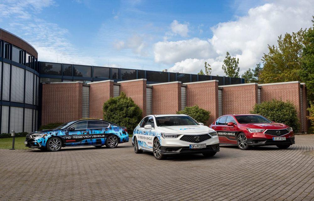 Prototipurile semi-autonome Honda au parcurs peste 25.900 de kilometri în Germania - Poza 2