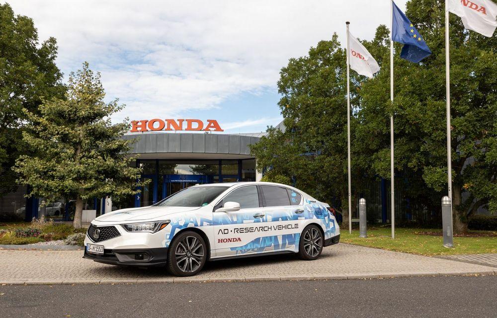 Prototipurile semi-autonome Honda au parcurs peste 25.900 de kilometri în Germania - Poza 3