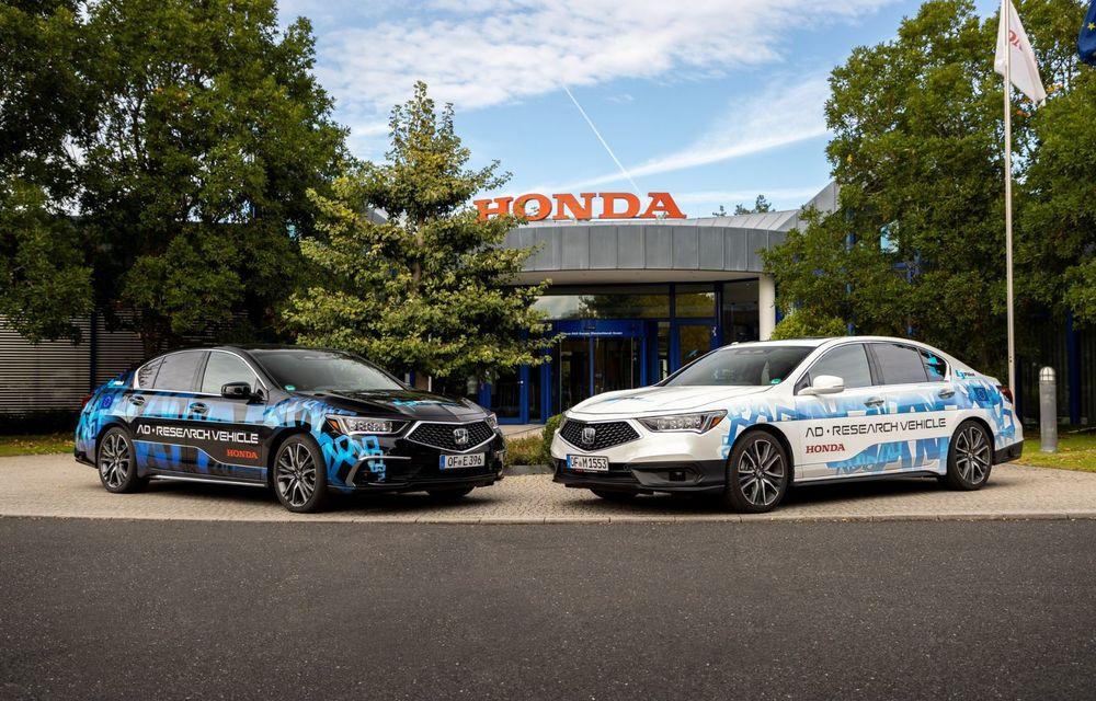 Prototipurile semi-autonome Honda au parcurs peste 25.900 de kilometri în Germania - Poza 1