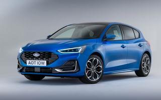 Ford Focus facelift: display central de 13.2 inch și preț de pornire de 15.300 de euro cu Rabla