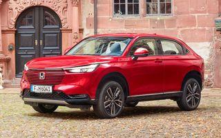 Honda publică imagini cu versiunea europeană a noului HR-V hibrid
