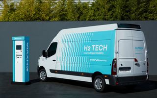 Renault Master primește o versiune pe hidrogen: conceptul promite 500 de kilometri autonomie