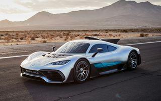 Mercedes-AMG Project One ar putea intra în producție la mijlocul anului viitor