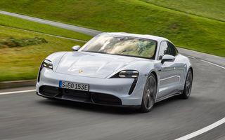 Electricul Porsche Taycan se vinde mai bine decât 911 și Panamera
