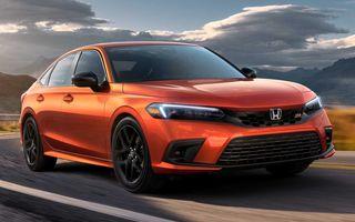 Honda prezintă noua Civic Si: 202 CP și sistem Rev-Match împrumutat de la Civic Type R