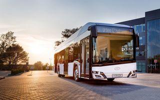 Un autobuz alimentat cu hidrogen va fi testat în 12 orașe din România