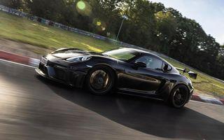 PREMIERĂ: Porsche Cayman GT4 RS. Mai rapid cu 23 de secunde pe Nurburgring decât Cayman GT4