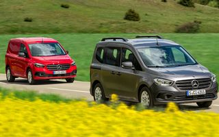 Prețuri noul Mercedes-Benz Citan în România: start de la 19.400 de euro