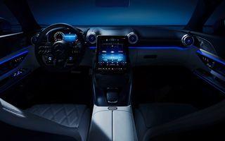 Ultima imagine cu interiorul noului Mercedes-AMG SL, înaintea debutului oficial din 28 octombrie