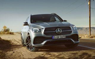 Îmbunătățiri pentru Mercedes-Benz GLE: motorizare micro-hibrid pentru versiunea GLE 300d