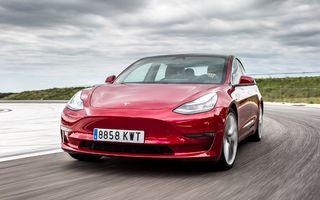 Tesla Model 3, cea mai vândută electrică din Europa în luna septembrie. Dacia Spring pe locul 10