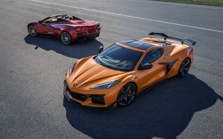 Noul Chevrolet Corvette Z06 debutează cu cel mai puternic V8, aspirat natural, montat vreodată pe un model de serie