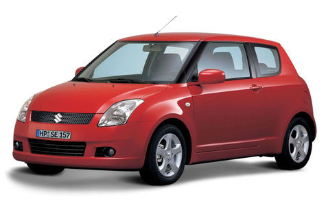 Suzuki Swift 3 usi (2007-2010)