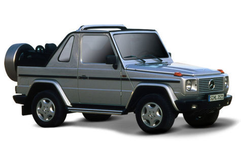 Mercedes-Benz Clasa G (3 usi) (2008-2012)