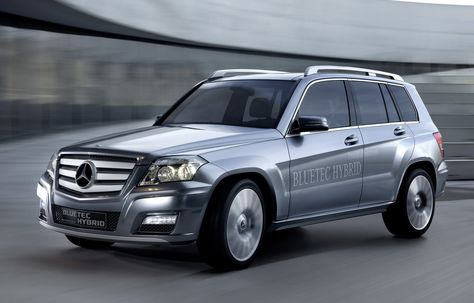 Mercedes-Benz Vision GLK Bluetec Hybrid Concept