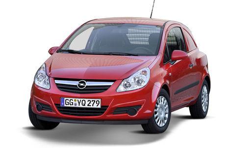 Opel Corsa Van (2009-2014)