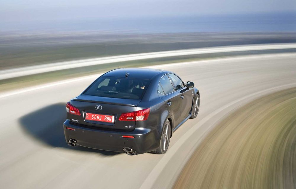 Lexus ar putea renunţa la modelul performant IS-F - Poza 2