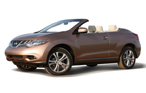 Nissan Murano CrossCabriolet (2011-2014)