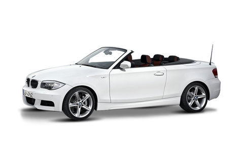 BMW Seria 1 Cabriolet facelift (2007-2014)
