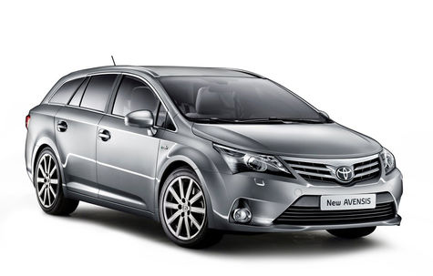 Toyota Avensis Station Wagon facelift (2012-2015)
