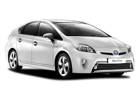 Toyota Prius facelift (2012-2015)