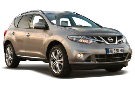 Nissan Murano facelift (2011- 2015)