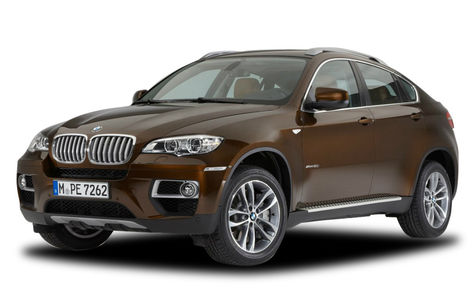 BMW X6 facelift (2012-2014)