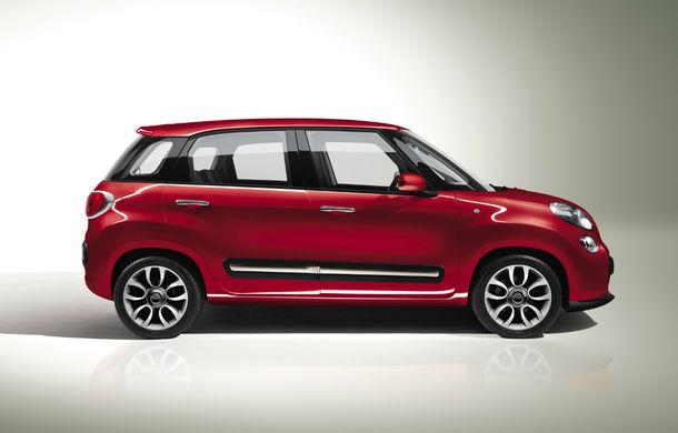 Fiat 500L: producţia crossoverului a fost oprită temporar din cauza vânzărilor slabe - Poza 2