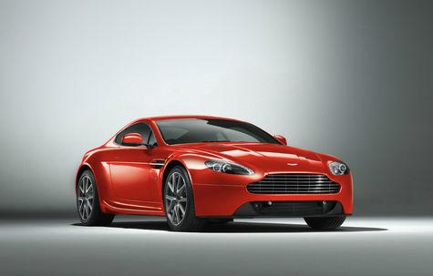 Aston Martin V8 Vantage facelift