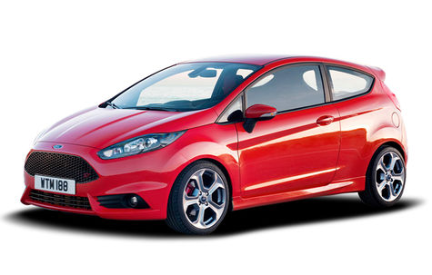 Ford Fiesta ST facelift (2013-2016)