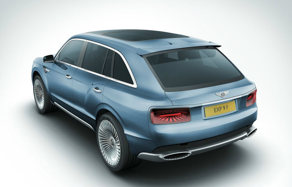 """Şeful Bentley: """"Primul nostru motor diesel va fi oferit pe Bentayga, viitorul SUV"""" - Poza 2"""