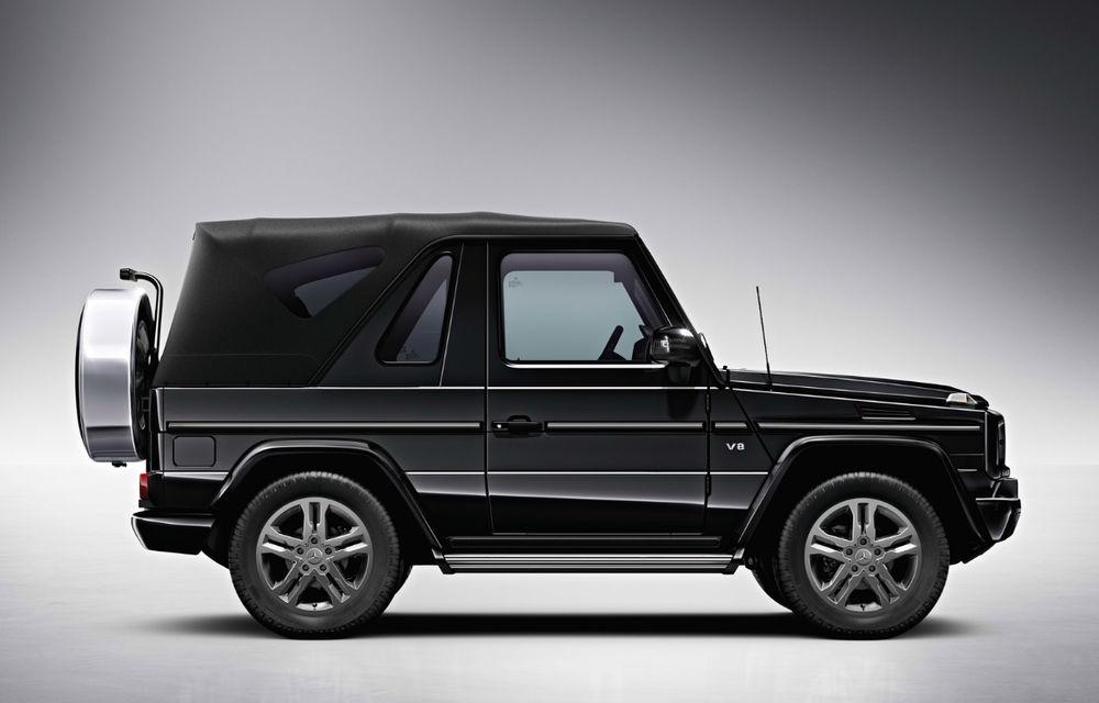 Mercedes-Benz G-Klasse Cabriolet iese din producţie - Poza 2
