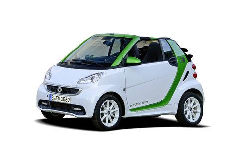 Smart Smart Fortwo electric drive Cabrio (2012-2014)