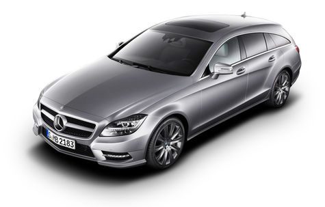 Mercedes-Benz CLS Shooting Brake (2012-2014)