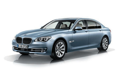 BMW 7 ActiveHybrid facelift (2012-2015)