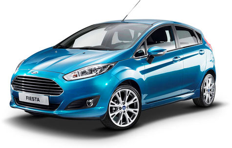 Ford Fiesta facelift (2013-2017)