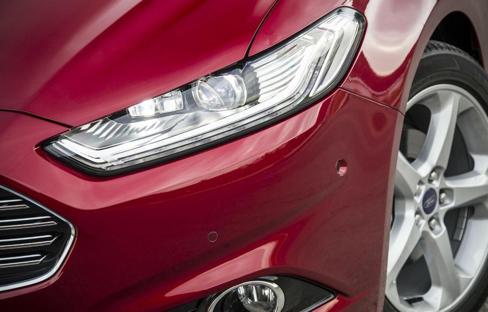 Preţuri Ford Mondeo în România: noua generaţie a modelului de clasă medie pleacă de la 24.300 de euro - Poza 2