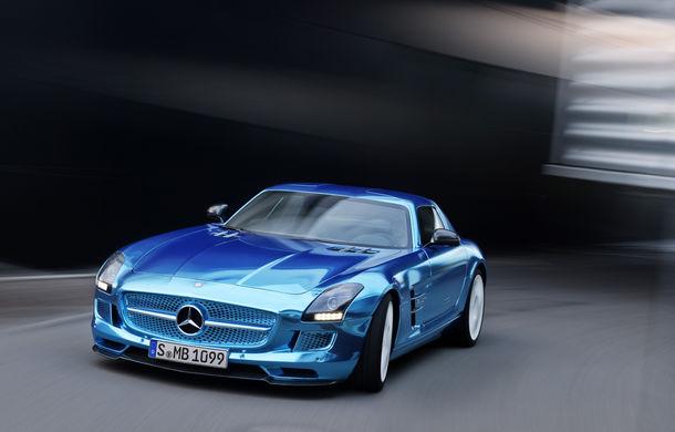 Mercedes-Benz SLS AMG Electric Drive a inspirat cea mai rapidă barcă electrică din lume - Poza 13