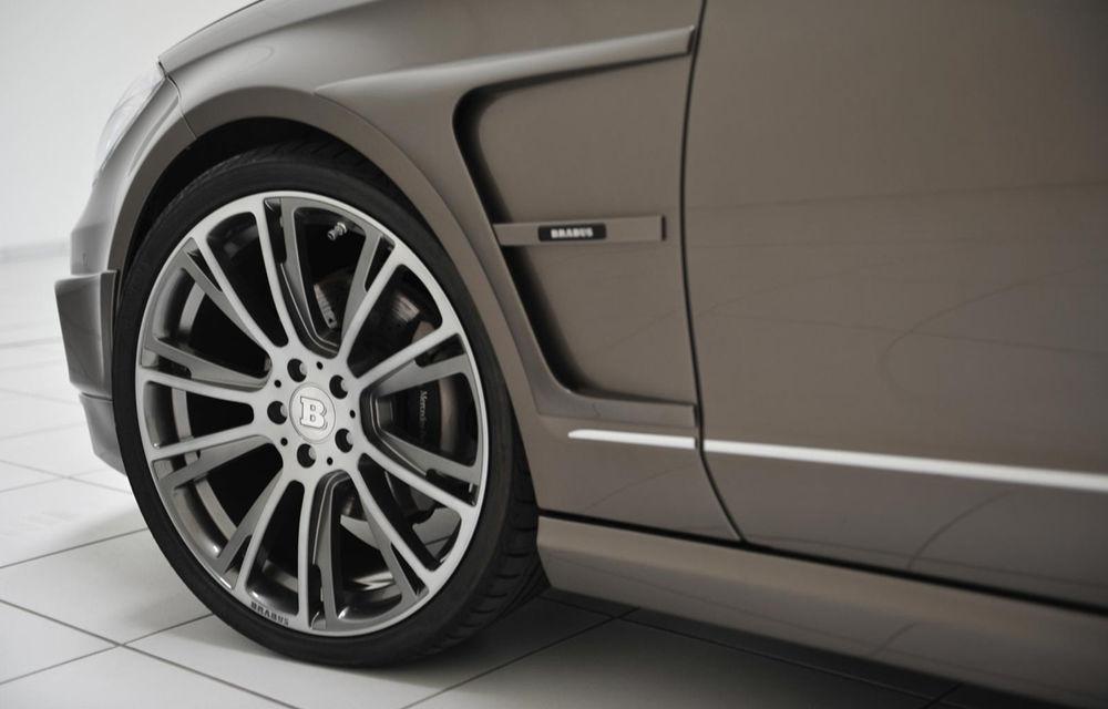 Mercedes CLS Shooting Brake primeşte vizita celor de la Brabus - Poza 2