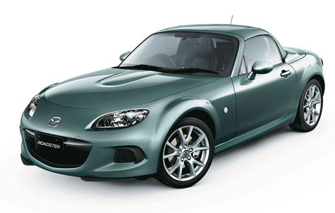 Mazda MX-5 Roadster Coupe facelift (2012-2014)