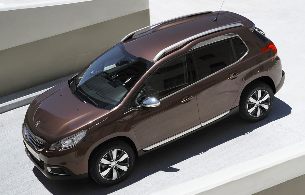 Peugeot creşte producţia lui 2008 pentru a cincea oară - Poza 2
