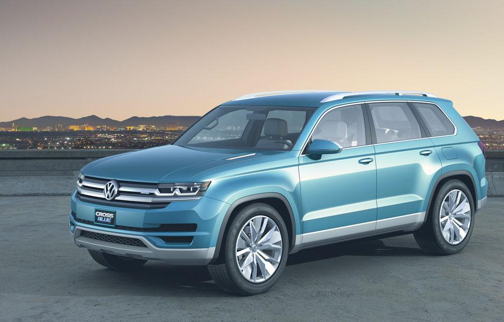 Gata de testare: Volkswagen a prezentat prima imagine a viitorului SUV cu șapte locuri - Poza 2