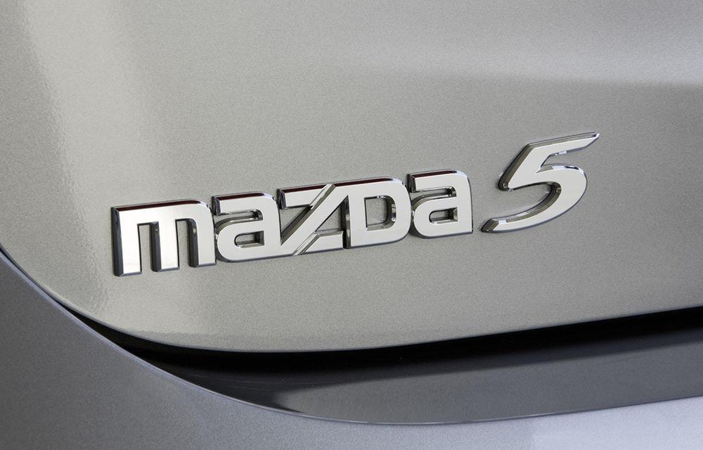 Mazda5 se pregăteşte să-şi încheie cariera şi nu va primi un succesor - Poza 2