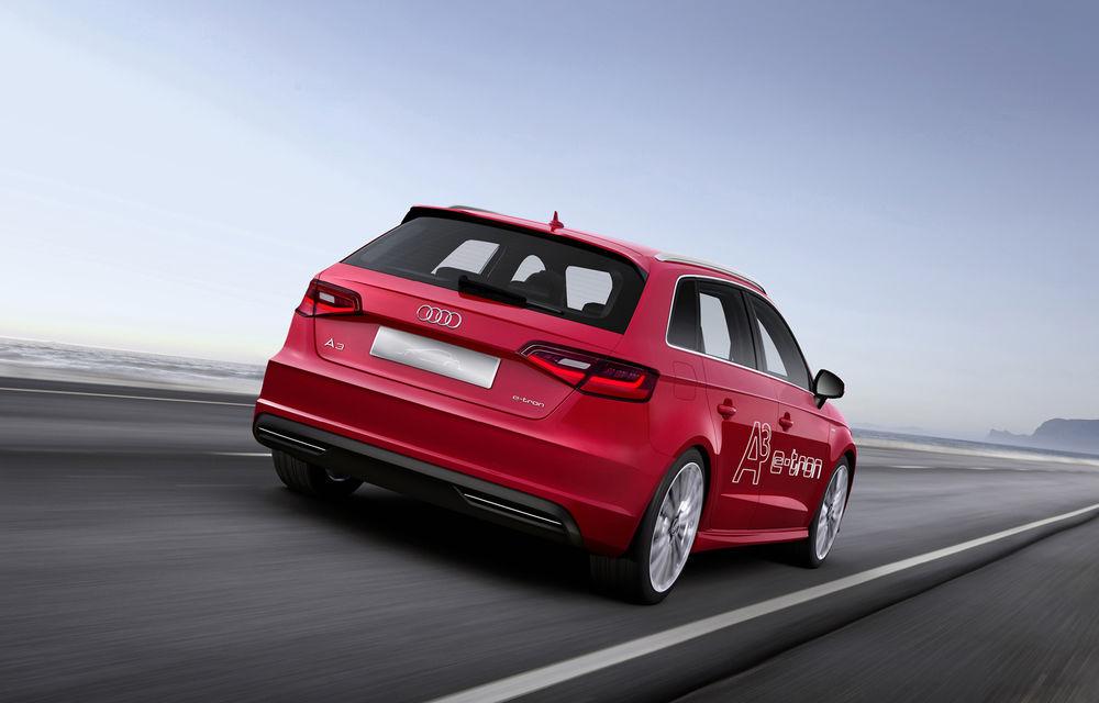Audi A3 e-tron Concept - surpriza germanilor pentru Salonul de la Geneva - Poza 2