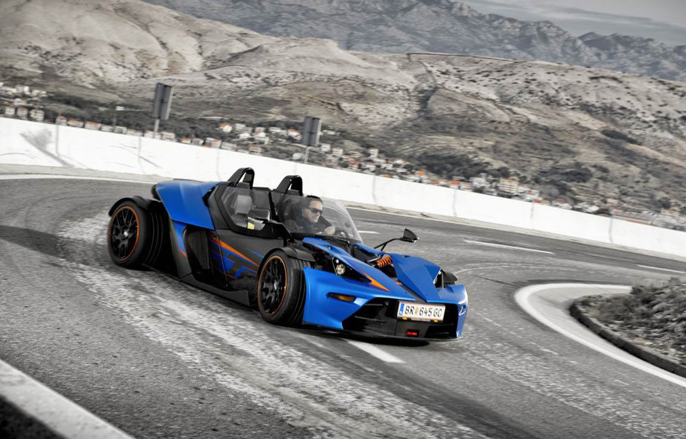 KTM X-BOW primeşte o versiune cu parbriz la Geneva - Poza 4