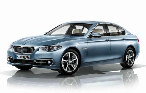 BMW ActiveHybrid 5 facelift