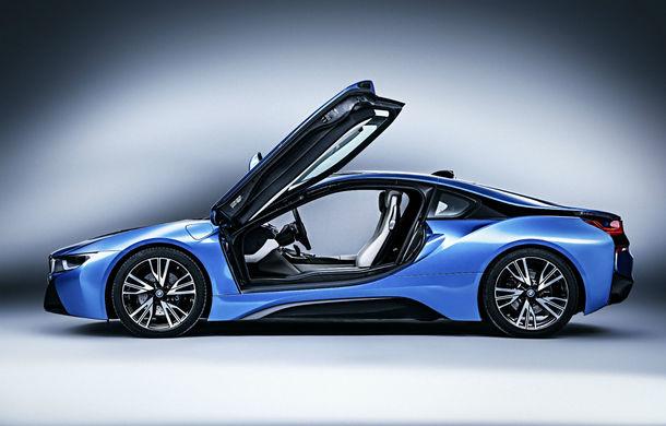 Până și cel mai futurist model are nevoie de un facelift: BMW i8 va primi o versiune îmbunătățită în 2018 - Poza 2