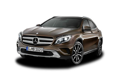 Mercedes-Benz GLA (2013-2017)
